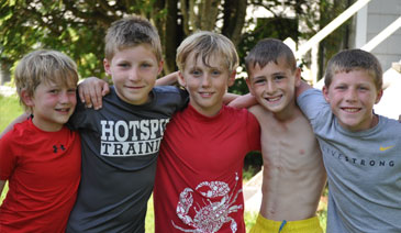 Summer Camp view Camp Hilltop picture gallery