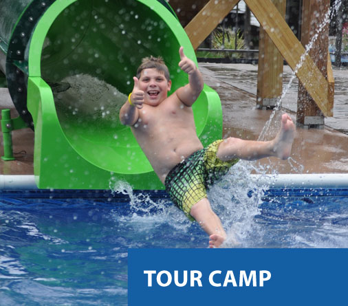 Camp Hilltop summer camp tour